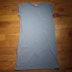 SUPER CUTE! Karl Marc John T-shirt Dress w/belt